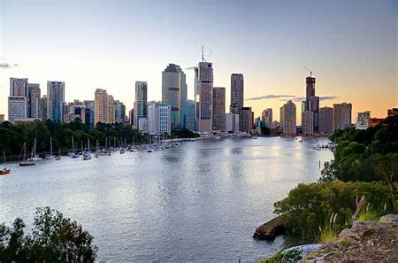Downtown Brisbane, Australia