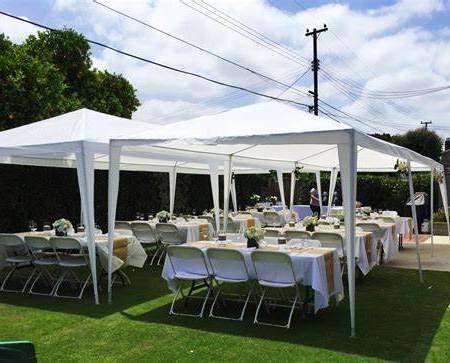 An event tent